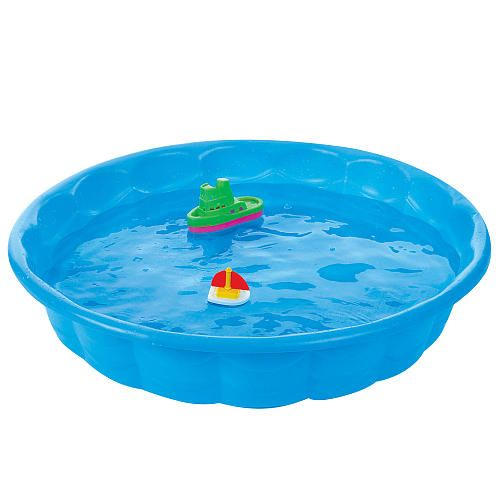 Sizzlin 39 cool 3 39 blue wading pool baby pool toys and for Pool plastik