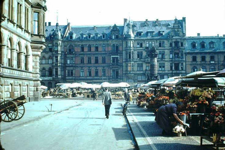 West Germany is the common English name for the Federal Republic of Germany in the period between its creation on 23 May 1949 and German reunification on 3 October 1990. These amazing color photographs documents everyday life of Germany in 1949.