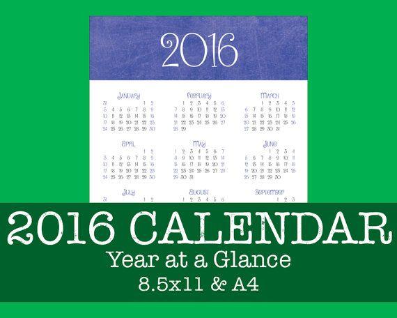 Best  At A Glance Calendar Ideas On   At A Glance