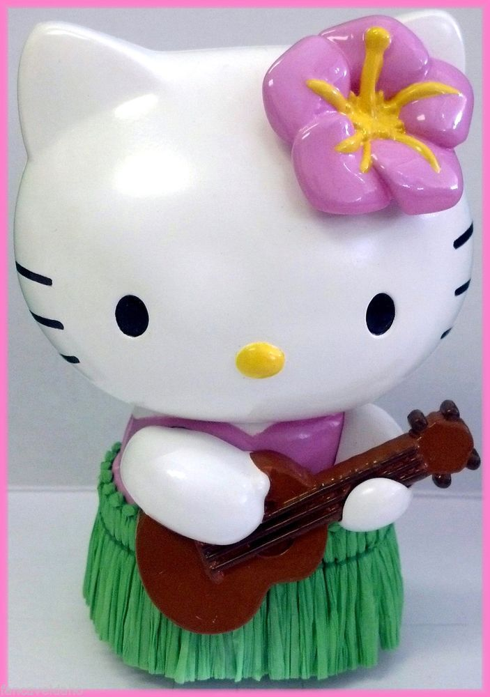 hula hello kitty coloring pages-#32