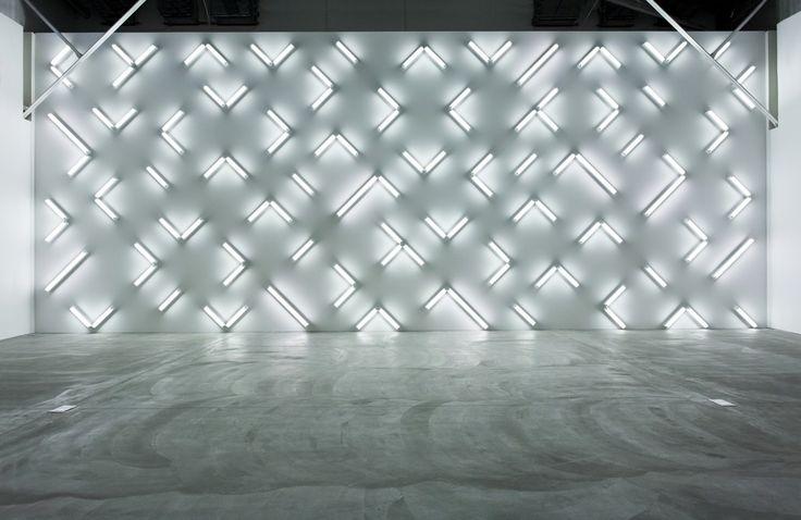 fluorescent lamps art - Google Search