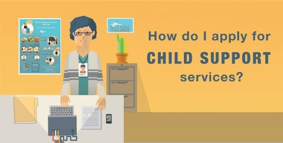 How do I apply for Child Support services?