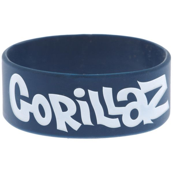 Gorillaz Blue Group Rubber Bracelet | Hot Topic ($4.90) ❤ liked on Polyvore featuring jewelry, bracelets, accessories, band merch, rubber bracelets, cartoon jewelry, comic book, blue jewelry, comic jewelry and rubber jewelry