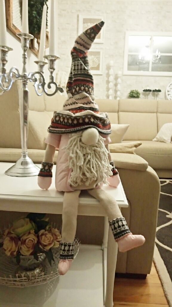 Diy Skandynawskie Skrzaty Mojej Mamy Jak Zrobic Skrzata Christmas Gnome Gnomes Christmas Ornaments