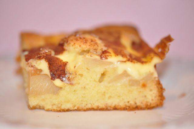 Lovely apple cake.