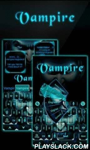 Vampire GO Keyboard Theme  Android App - playslack.com ,  Night Vampire is an dark theme made by GO Keyboard Team. Wish you like it!Get this COOL theme to make you GO KEYBOARD - EMOJI, EMOTICONS more lovely and colorful.★You may get this fantastic theme via two ways:a. Pay $ with Google in-app billing (IAP)b. Get it FREE with Getjar Gold (may need install few sponsored free apps)Thank you so much for your support!★Notice:- GO Keyboard theme is only available for phones with GO Keyboard…