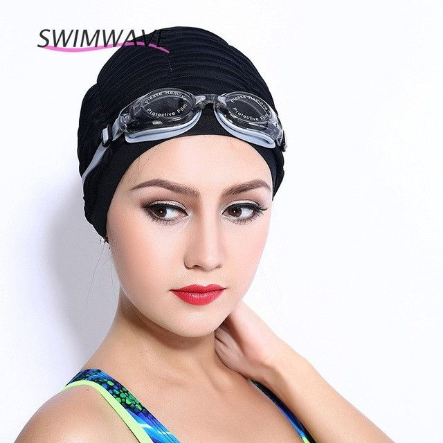 Summer Women Sports Swimming Caps Stretch Elastic Flexible Swim Hats Silicone Bathing Hats Breathable Quick Dry Caps