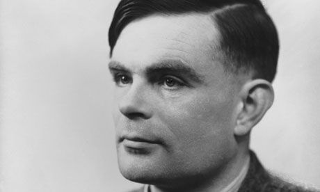 Alan Turing … 'He was funny and witty and he talked endlessly.' Photograph: National Portrait Gallery, London