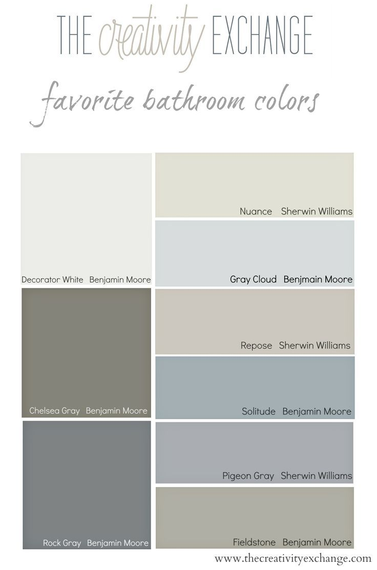 Choosing bathroom paint colors for walls and cabinets for Neutral wall paint colors