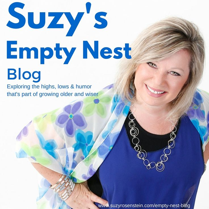 Follow my blog! www.suzyrosenstein.com/empty-nest-blog Guess what? You're not alone! Explore the highs, lows and humor that goes along with growing older and wiser.   emptynestblog   midlife   workingmom   momlife   graduation   college   university   milestones   midlifetransition   mid-life   forties   fifties   followyourdream   blog   blogger   emptynestblog