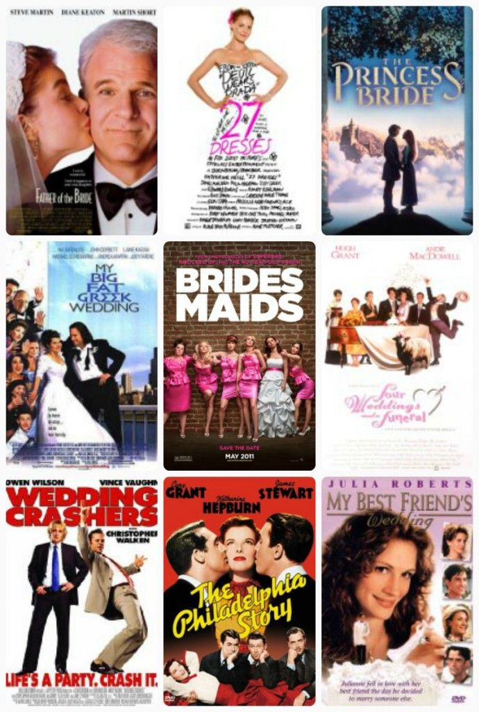 I basically have them all Adi! Wedding movies to watch with your bridesmaids before your wedding!