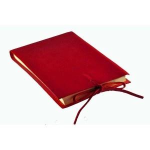 Leather Journal w Tie (A5 Landscape) 20x15.5cm