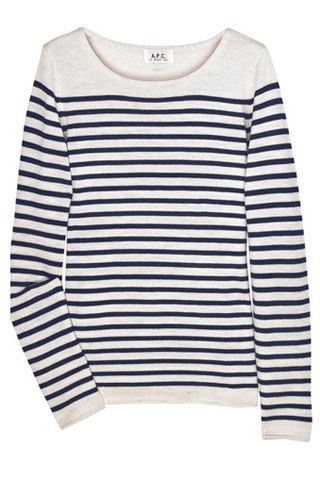 A.P.C. sweater. May 2013 (Gift)