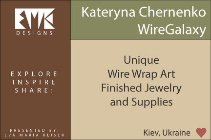 Eva Maria Keiser Designs: Inspiration/Resource:  https://www.etsy.com/shop/WireGalaxyKateryna Chernenko of Wire ...