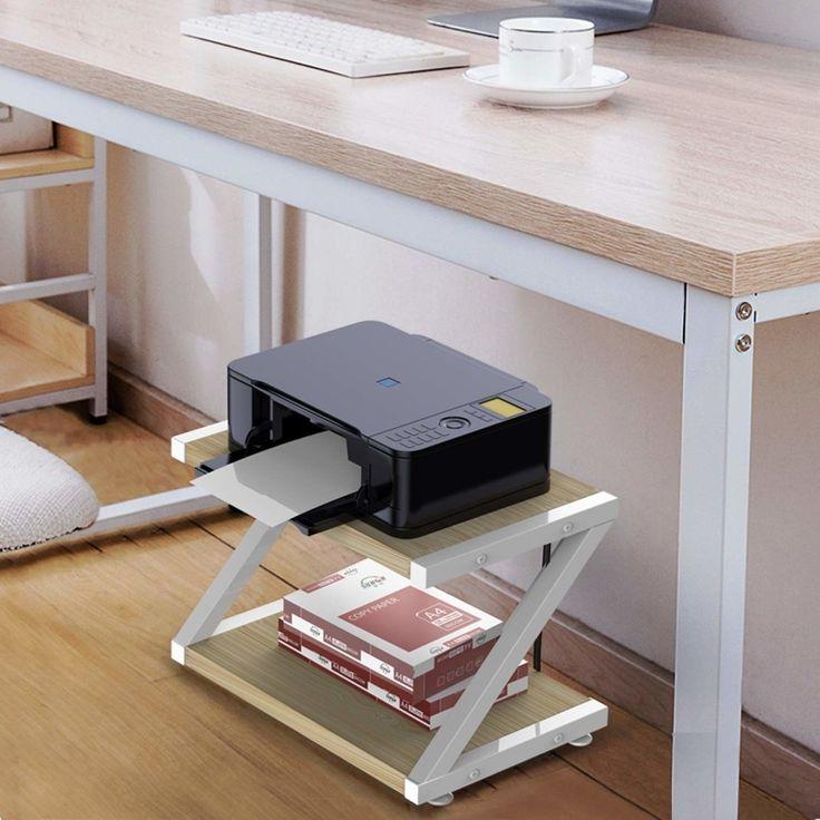 Under Desk Storage, Desk With Printer Storage