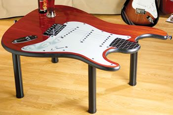 guitar coffee table   furniture   pinterest   guitars and coffee