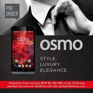 OSMO Smartphone Murah Bermemori Internal 16 GB