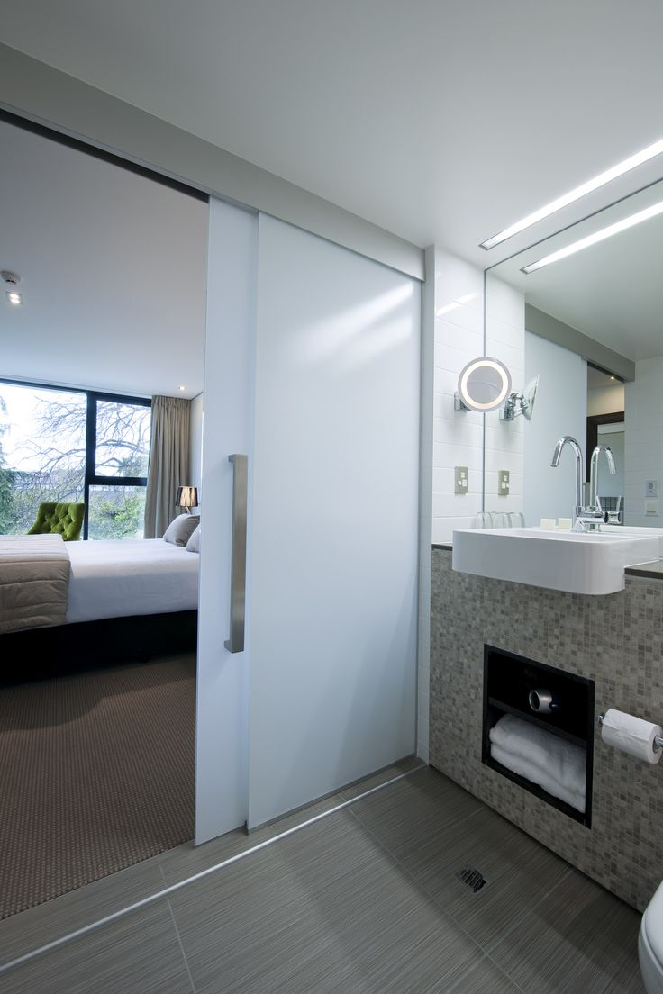 Ensuite bathroom at The George, Christchurch NZ