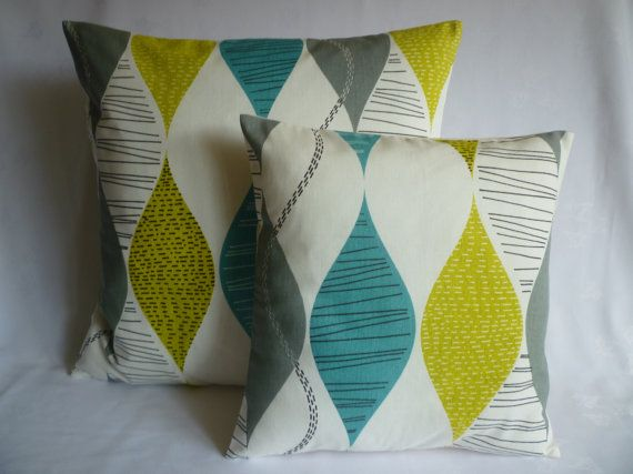 liv room.... x 2 sets 22 and 16 Teal Designer Cushion Covers Pillowcases Shams Slips Scatter.