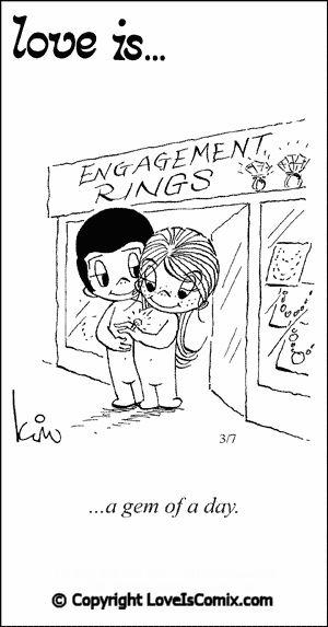 Love is... Comic for Sat, Feb 09, 2013