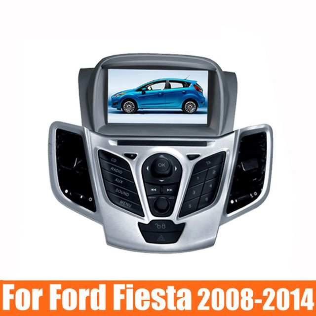 """7"""" Car DVD for Ford Fiesta 2008 2009 2010 2012 2013 2014 2015 DVD GPS navigation stereo with bluetooth Radio free map dvd player"""
