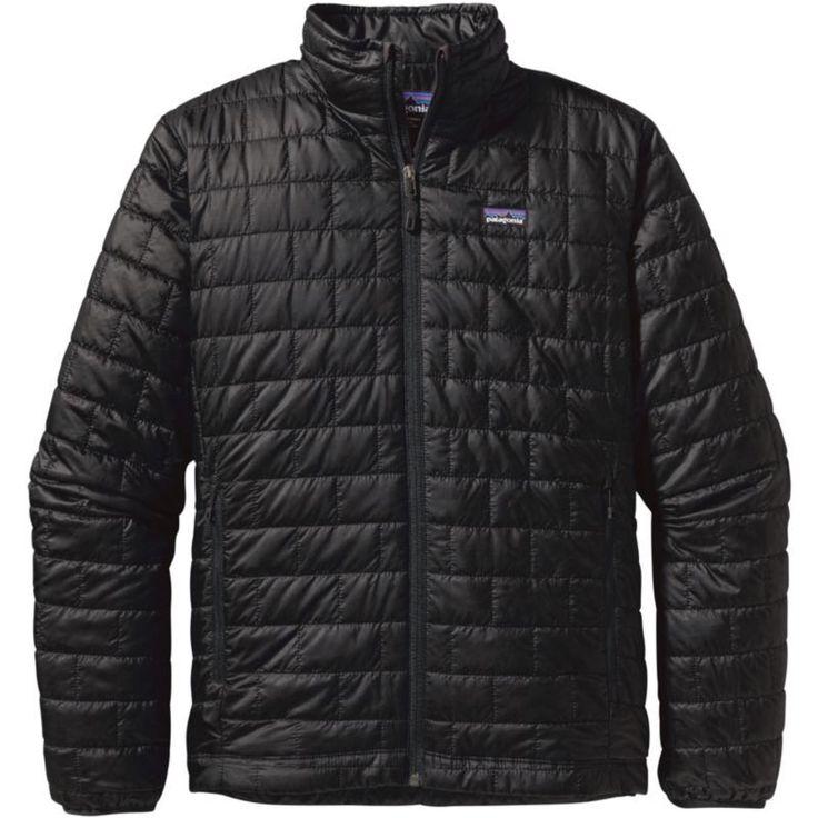 Patagonia Men's Nano Puff Jacket, Size: Medium, Black