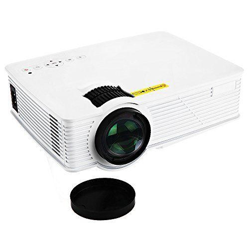 GP-9 Mini Home Théâtre 2000 Lumens 1920 x1080 pixels Multimédia HD Projecteur LCD: ● Système de projection: Ecran LCD ● Durée de vie des…