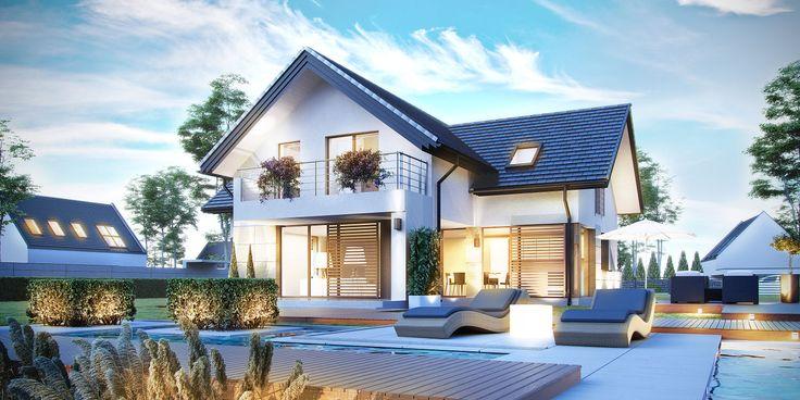 Projekt domu HomeKoncept 7 www.homekoncept.pl #projektdomu