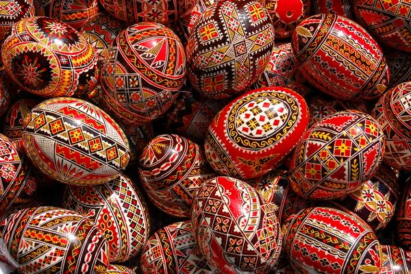 Since Romania is a religious country at its origin, it has Easter as a time of celebration. It's one of the more liked and celebrated events by Romanians as it marks a time in which entire families reunite. As customary, eggs are decorated using unique patterns and colors when compared to other countries.