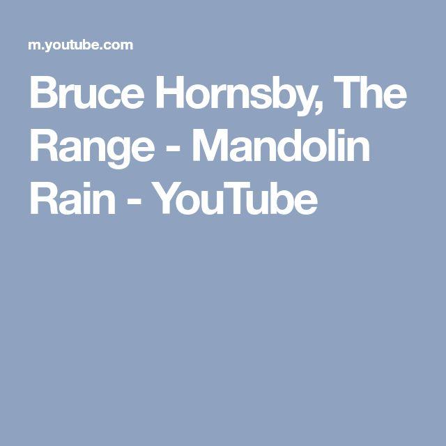 Bruce Hornsby, The Range - Mandolin Rain - YouTube
