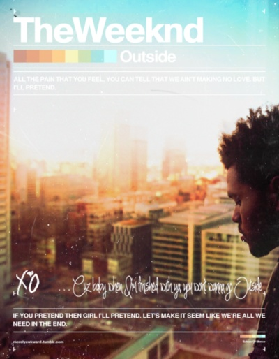 The Weeknd Outside - Lyrics Outside - The Weeknd Lyrics ...