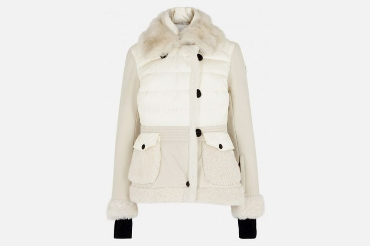 Ski with style in a fashinable Moncler Grenoble Twill Jacket