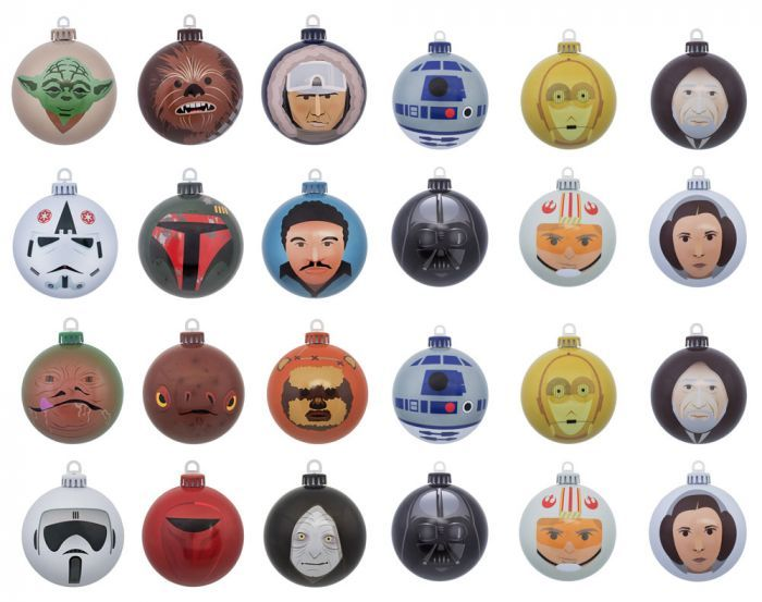Star Wars Bundle Of 24 Christmas Tree Ornaments Baubles Merchoid In 2020 Christmas Tree Star Star Wars Christmas Tree Star Wars Christmas