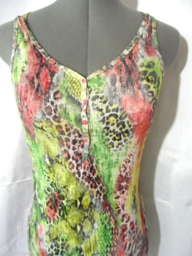 Cheetah Print Blouses Tops