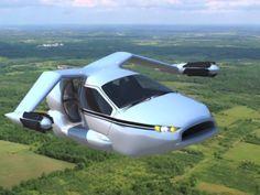 Une voiture volante sans brevet de pilotage