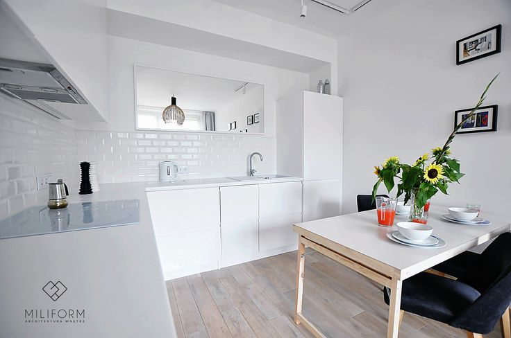 White modern cabinets