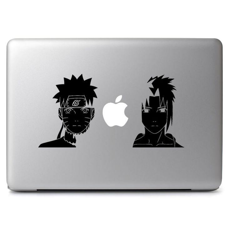Naruto sasuke decal sticker skin for apple macbook air pro 11 13 15 laptop