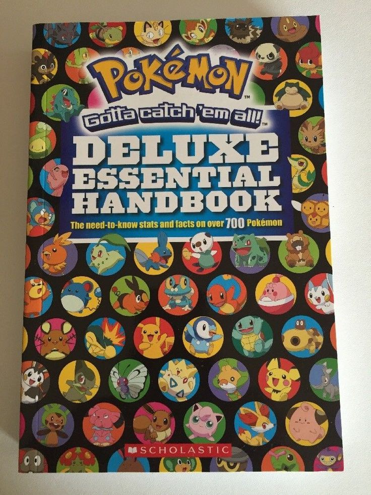 Pokemon Deluxe Essential Handbook Brand New Book Collectable  | eBay