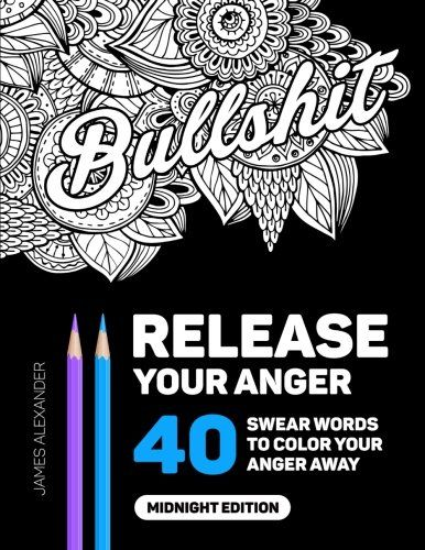 75 best download read online bestseller books pdf images on download release your anger an adult coloring book with 40 swear words to color and fandeluxe PDF