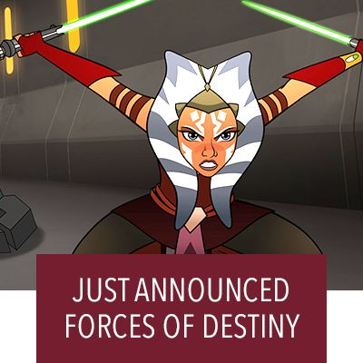Hero Stream - Star Wars - Forces of Destiny