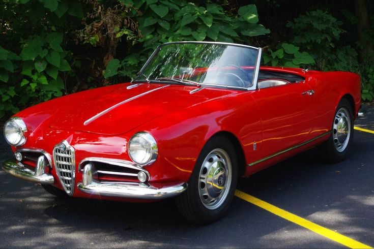What It Could Look Like: 1957 Alfa Romeo Spider - http://barnfinds.com/what-it-could-look-like-1957-alfa-romeo-spider/
