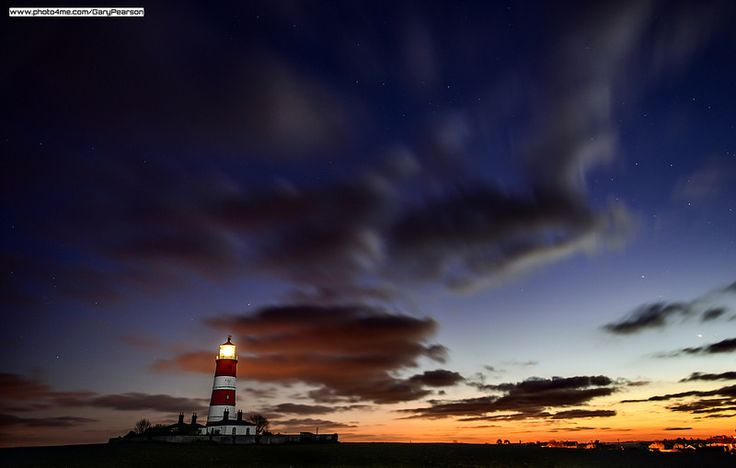 Happisburgh lighthouse in Norfolk