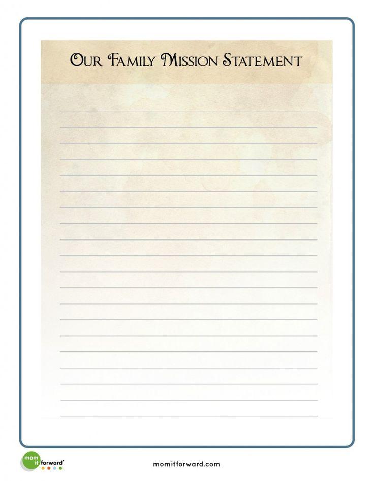 The 25+ best Mission statement template ideas on Pinterest - profit statement template