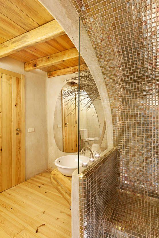 A JOIA d´AZOIA : Casas de banho rústicas por pedro quintela studio