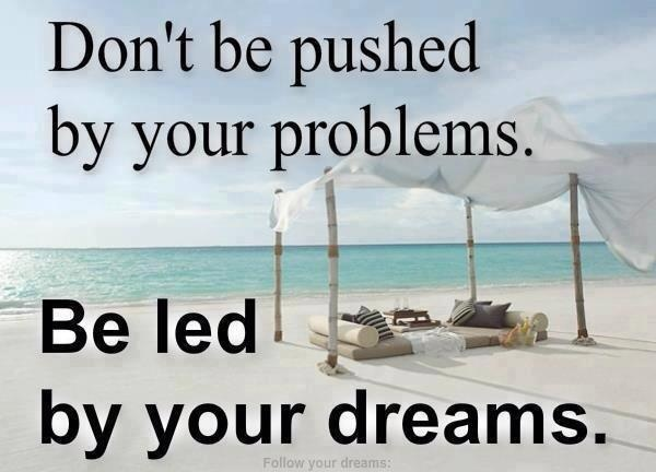 Ready to put the problems on the back burner and go after your dreams?  Start Here: http://weirdmarketingtips.com/realchange/?id=growtogreat