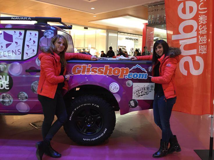Glisshop sponsorise Sophie et Priscilla lors du rallye des gazelles 2016.