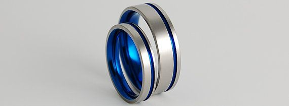 Wedding Bands Titanium Rings Titanium Wedding by RomasBanaitis