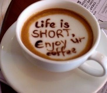 Foods: Life Is Shorts, Coffee Lovers, Latte Art, Coff Art, So True, Coffee Quotes, Coffee Art, I Love Coffee, Cups Of Coffee
