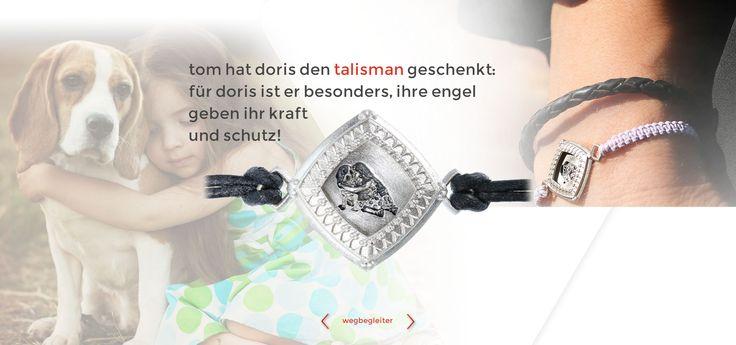wegbegleiter www.wegbegleiter.com schmuck geschenk geburtstag weihnachten talisman geschenk anlässe armband