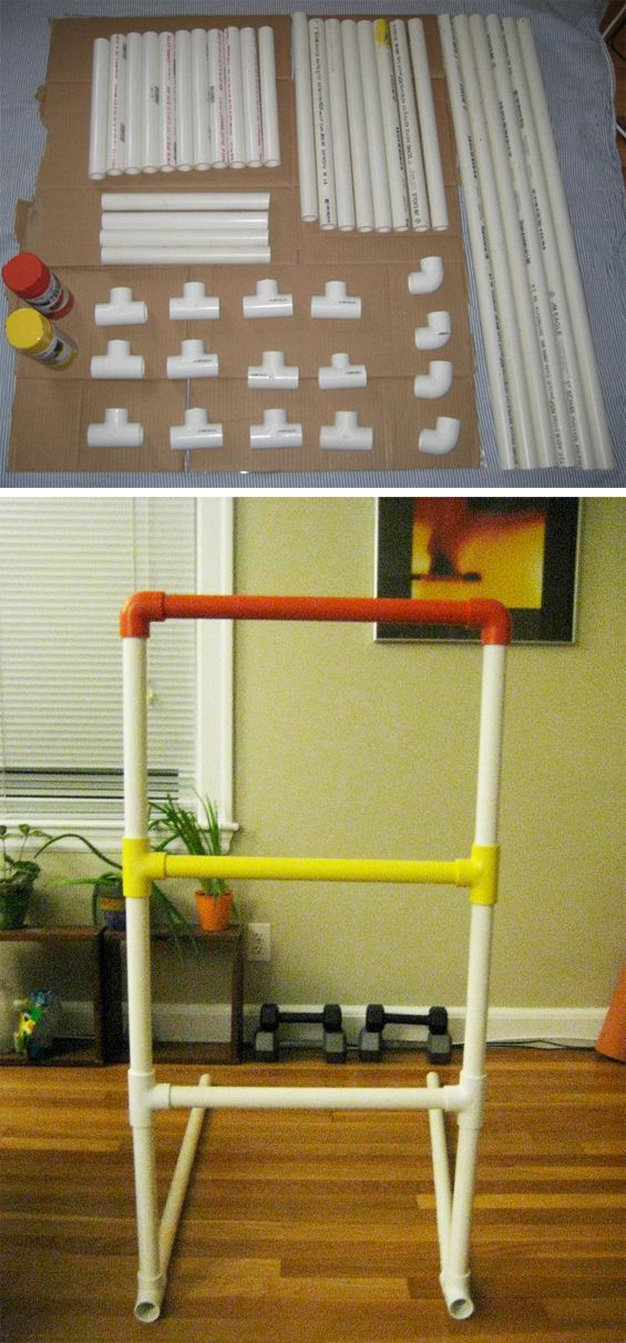 Ladder Golf - just made this over the weekend, super easy, and a great lawn game. Can't wait to get it out and use it!
